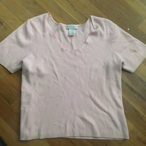 XL Crop Top Light Pink Perfect condition